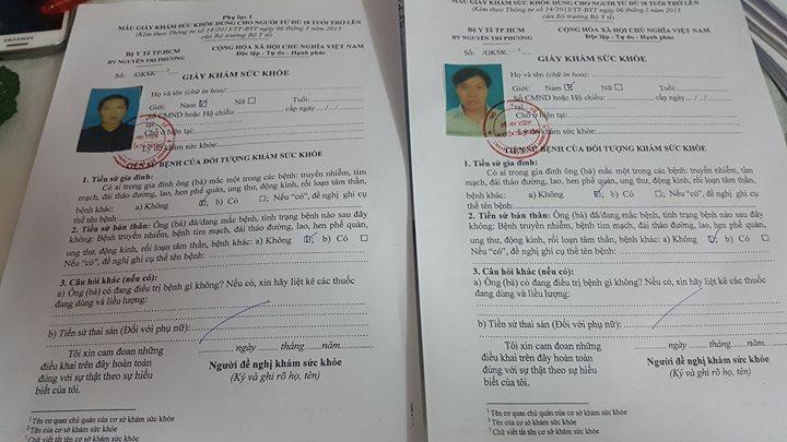 giấy chứng nhận an toàn vệ sinh thực phẩm