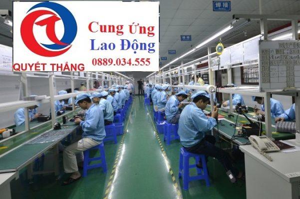 Cung ứng lao động tại Long An