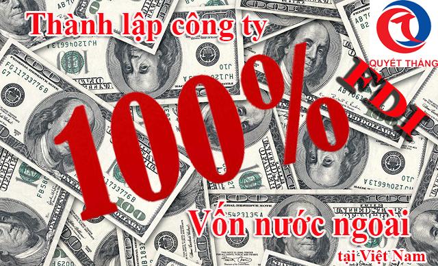 thành lập công ty 100 vốn nước ngoài tại Bình Dương