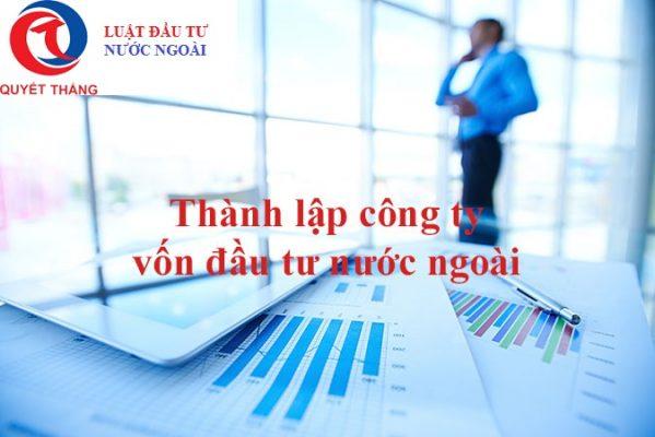 Đăng ký doanh nghiệp vốn đầu tư nước ngoài tại Tp.hcm