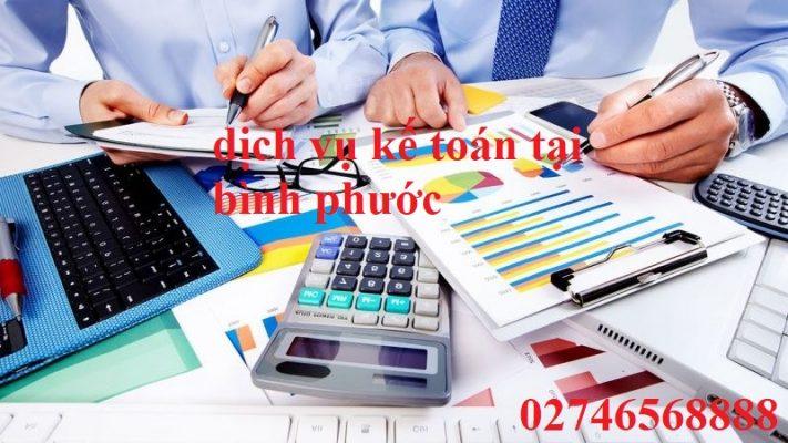 dịch vụ kế toán tại bình phước