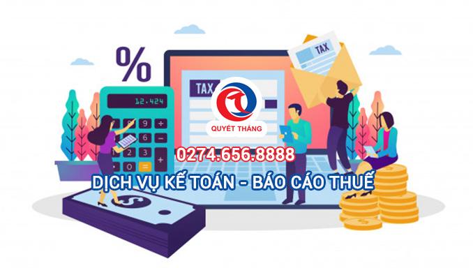 Dịch vụ báo cáo thuế tại Tân Uyên