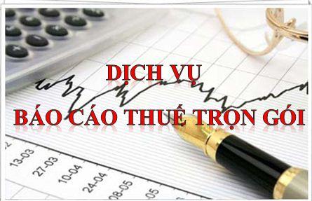 Dịch vụ báo cáo thuế tại huyện Phú Giáo