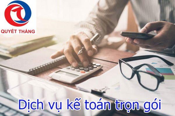 Dịch vụ kế toán tại huyện Dầu Tiếng