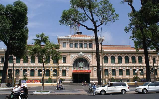 Hình ảnh bưu điện trung tâm thành phố