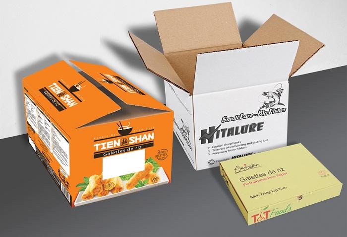 Công ty Quyết Thắng cung cấp hộp giấy carton các loại